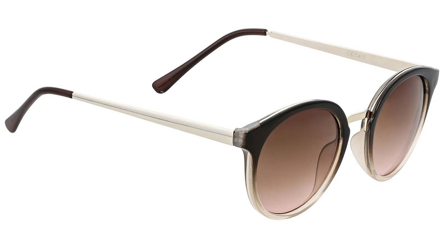 Sonnenbrille - Black and Silver