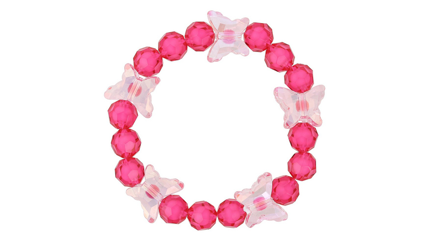 Armband - Pink Butterfly