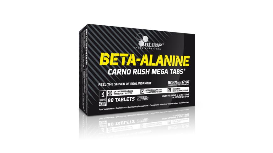 Olimp Beta Alanine Carno Rush 80 Tabs.