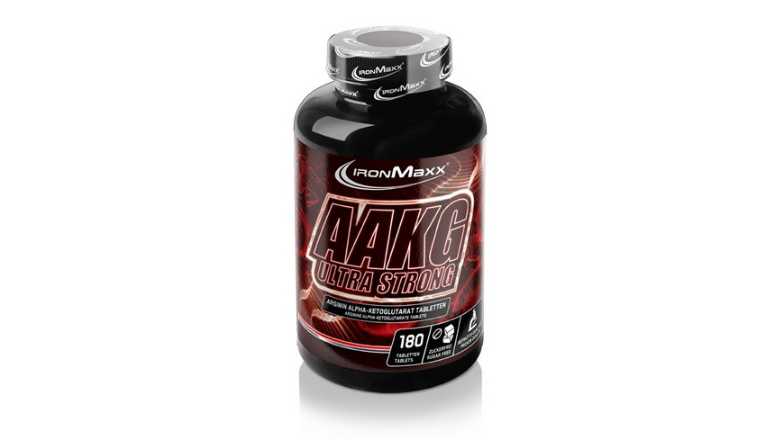 IronMaxx AAKG Ultra Strong 180 Tabletten