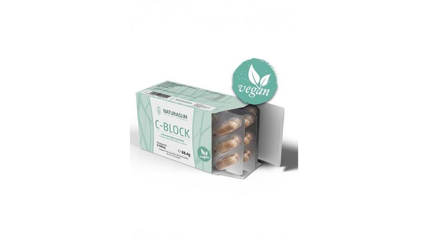 Naturaslim C-Block 100% Vegan 90 Kapseln