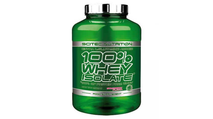 Scitec Nutrition 100% Whey Isolate 2000g-Banana