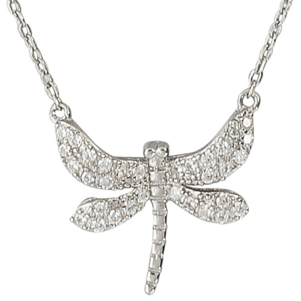 Kette - Silver Dragonfly