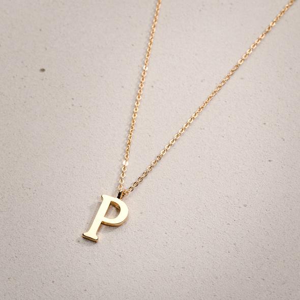 Kette - Golden P