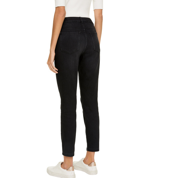 Skinny Fit: Jeans mit Waschung - Skinny Jeans