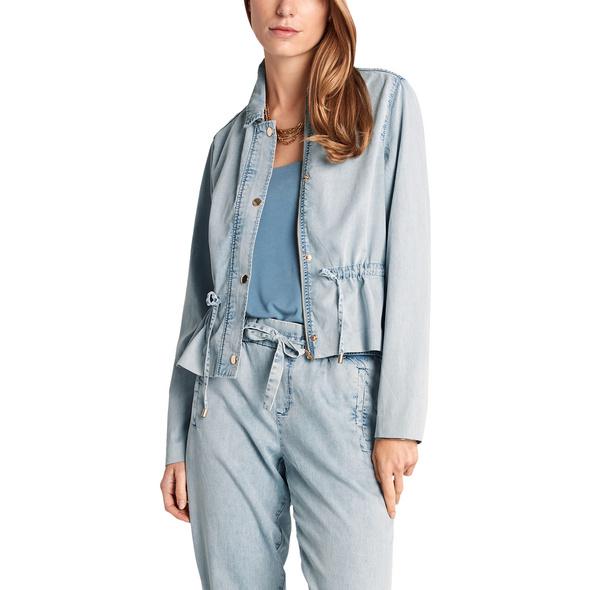 Blusenjacke aus Lyocell-Denim - Overshirt