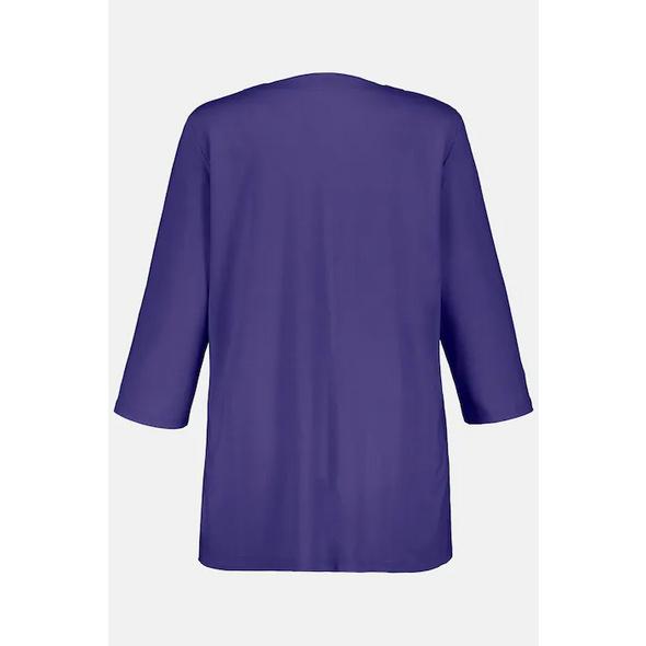 Shirt, Tunika-Ausschnitt, Classic, 3/4-Arm, selection