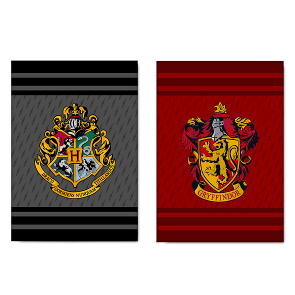 Harry Potter - Gryffindor & Hogwarts Geschirrtücher Set