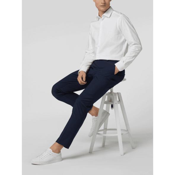 Slim Fit Anzug-Hose mit Stretch-Anteil Modell 'Cedric'