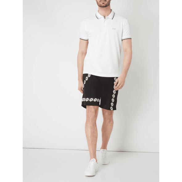 Poloshirt mit Kontrastdetails Modell 'Paddy'