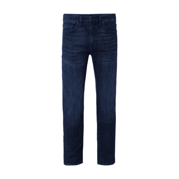 Light Stone Washed Slim Fit Jeans Modell 'Delaware'