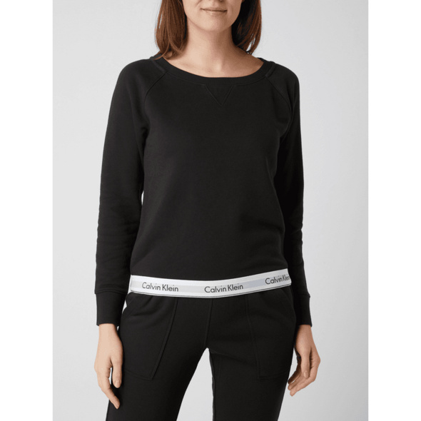 Boxy Fit Sweatshirt mit Raglanärmeln