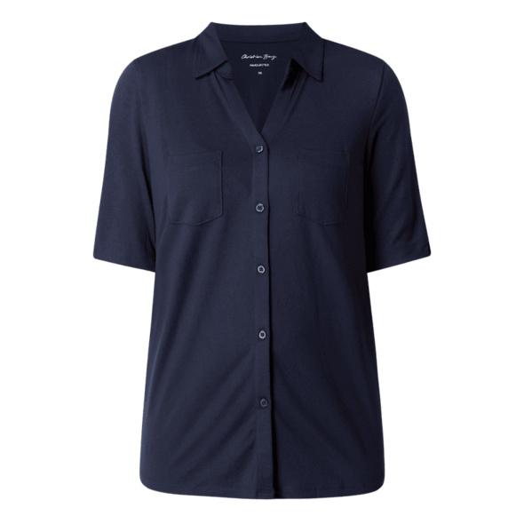 Bluse aus Modalmischung