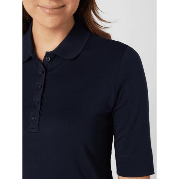 Poloshirt mit Knopfleiste