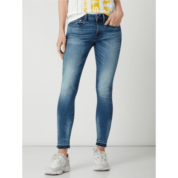 Skinny Fit Jeans mit Stretch-Anteil Modell '3301'