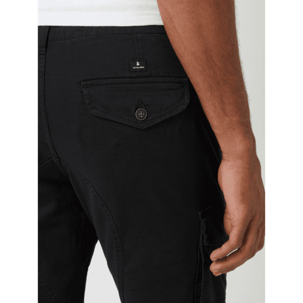 Tapered Fit Cargohose mit Stretch-Anteil