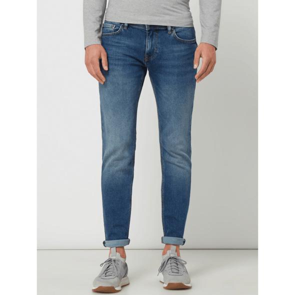 Slim Fit Jeans mit Eingrifftaschen