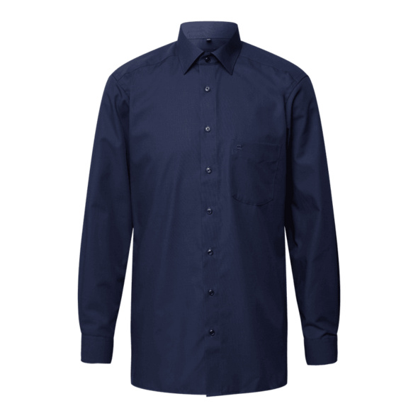 Regular Fit Hemd mit Kentkragen