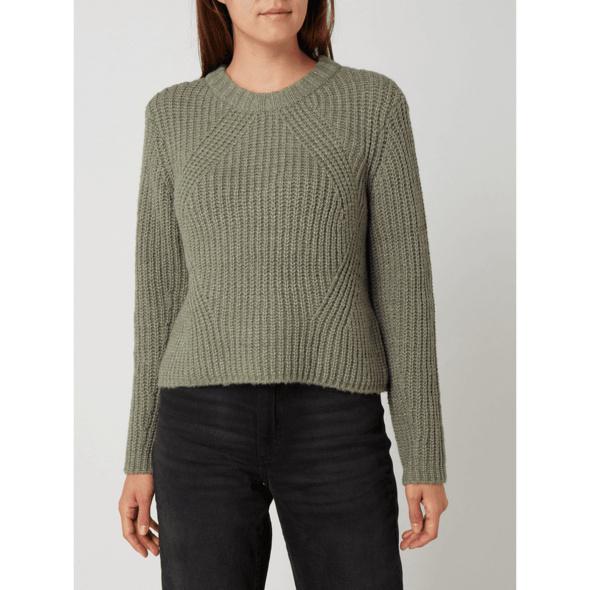 Pullover mit Rundhalsausschnitt Modell 'Fiona'