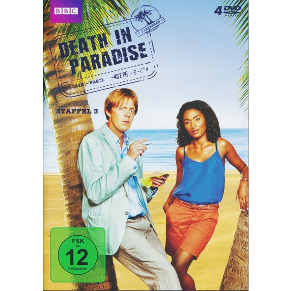 Death in Paradise - Staffel 3  [4 DVDs]