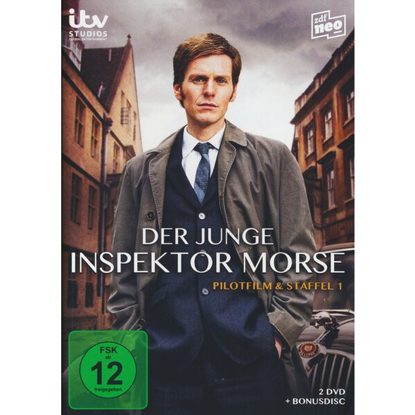 Der junge Inspektor Morse - Staffel 1  [3 DVDs]