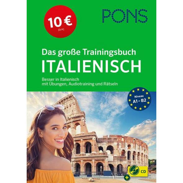PONS Das große Trainingsbuch Italienisch