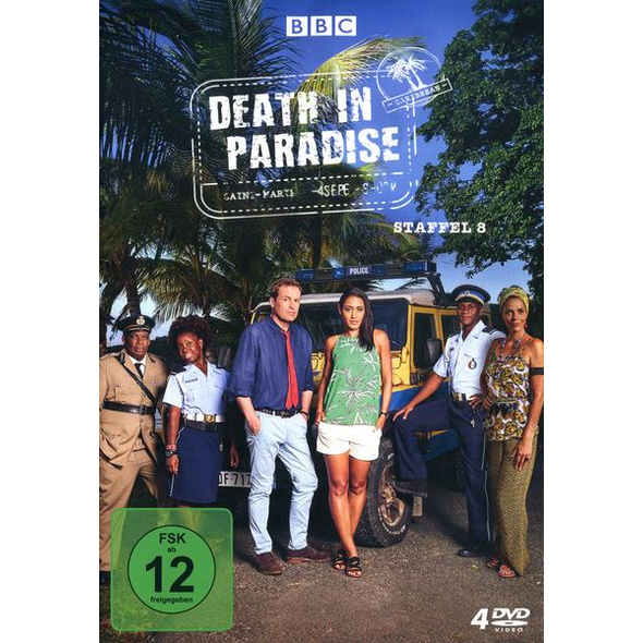 Death in Paradise - Staffel 8  [4 DVDs]