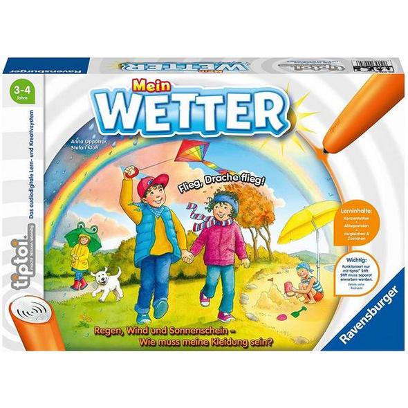 Ravensburger 00074 - tiptoi®, Mein Wetter, Lernspiel