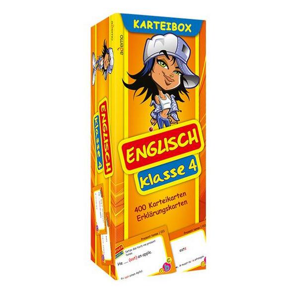 Karteibox Englisch Klasse 4