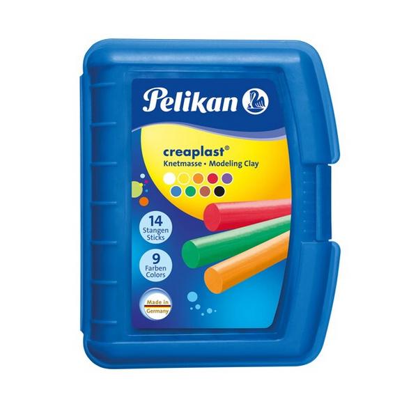 Pelikan Knete Creaplast® 9 verschiedene Farben