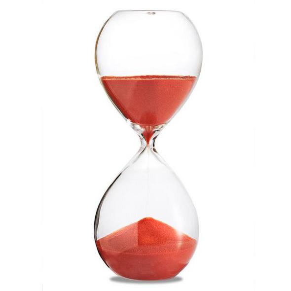 Sanduhr 'Time Out' 30 Minuten, orange