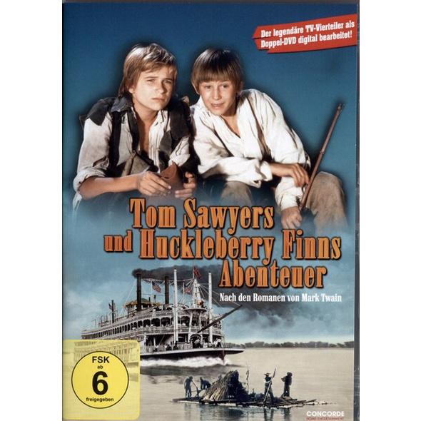 Tom Sawyer und Huckleberry Finns Abenteuer  [2 DVDs]