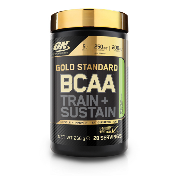 Optimum Nutrition Gold Standard BCAA T&S 266g-Rasberry & Pomgrenate