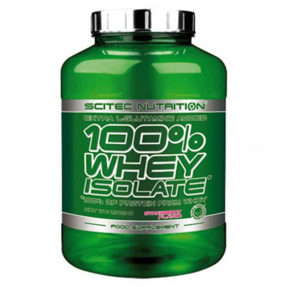 Scitec Nutrition 100% Whey Isolate 2000g-Raspberry