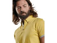 Poloshirt mit modischem Button Down Kragen