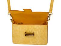 Handtasche - Yellow Snake