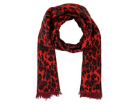 Schal - Red Leopard