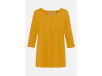 T-Shirt, Zierfalten, A-Linie, 3/4-Arm, Modal