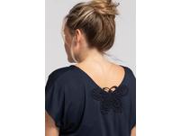 Nachthemd, Spitzen-Schmetterling, oversized