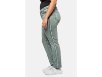 Jeans Sammy, Galonstreifen, schmale 5-Pocket-Form
