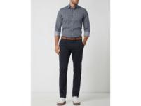 Slim Fit Business-Hemd aus Baumwolle mit extra langem Arm
