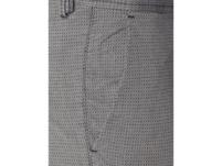 Slim Fit Chino mit feiner Struktur Modell 'Schino'