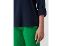 Blusenshirt mit Tunikakragen