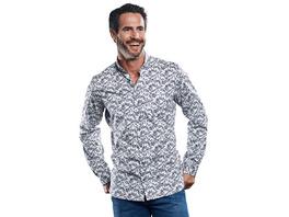 Hemd mit All-Over-Print