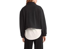Jacke aus Twill-Jersey - Blouson