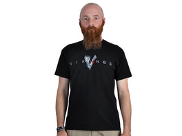 Vikings - Welcome T-Shirt schwarz