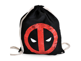 Deadpool - Logo Sportbag schwarz