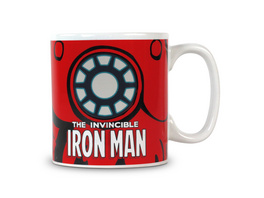 Iron Man - Marvel Thermoeffekt Tasse