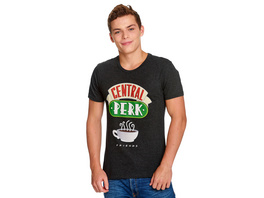 Friends - Central Perk Logo T-Shirt grau