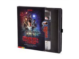 Stranger Things - VHS Premium Notizbuch A5